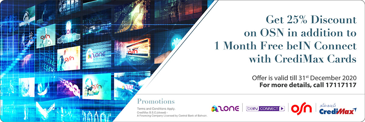 CrediMax and OSN Azone offer