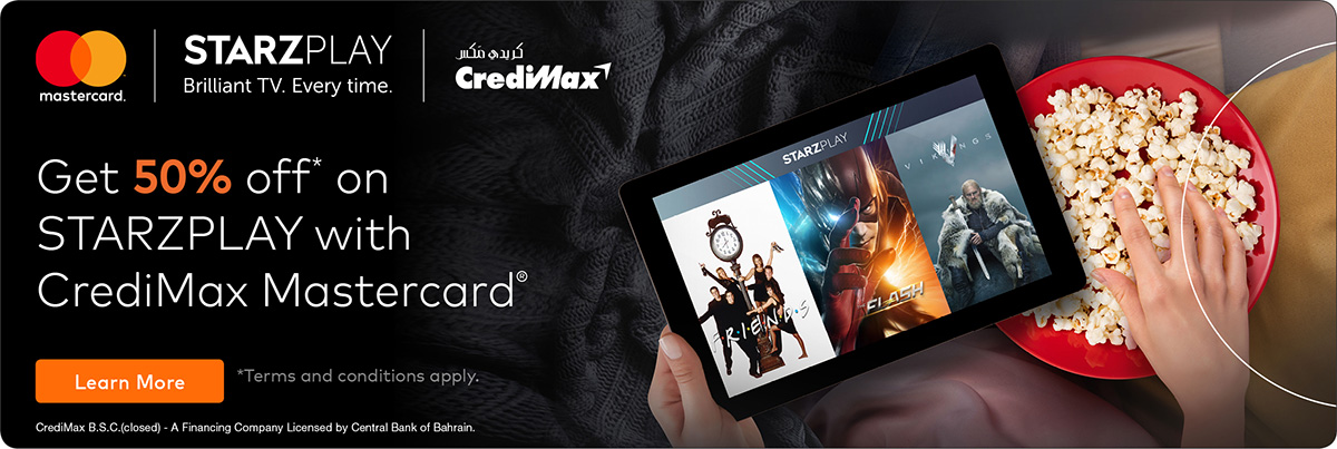 CrediMax and Mastercard Starzplay Offer