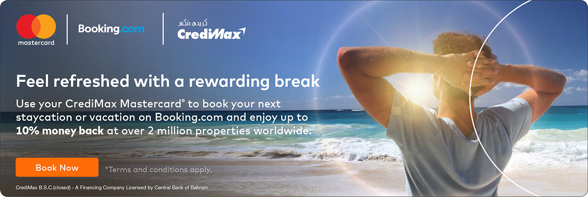 CrediMax and Mastercard Booking.com Offer