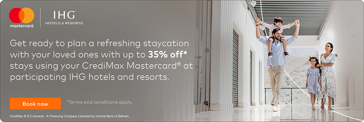 Mastercard and IHG Staycation Offer