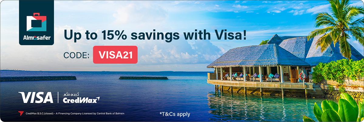 Visa and Almosafer Offer