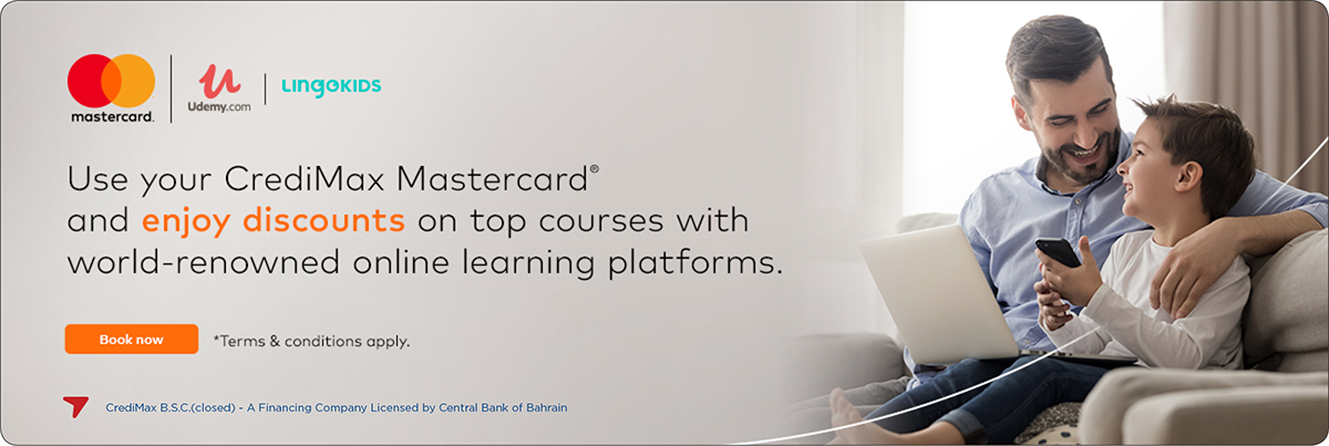 Mastercard Udemy and LingoKids Offer