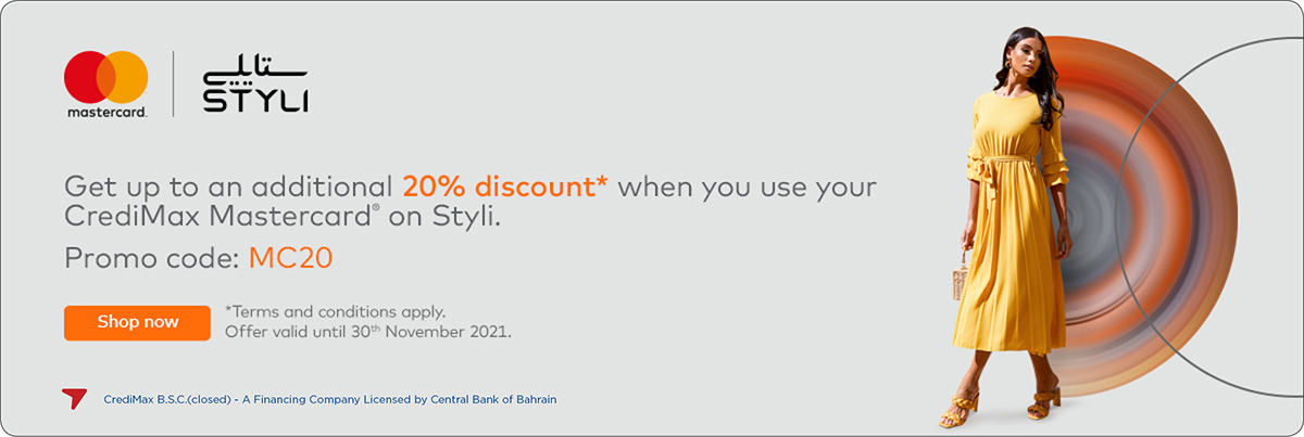 Mastercard and Styli Offer