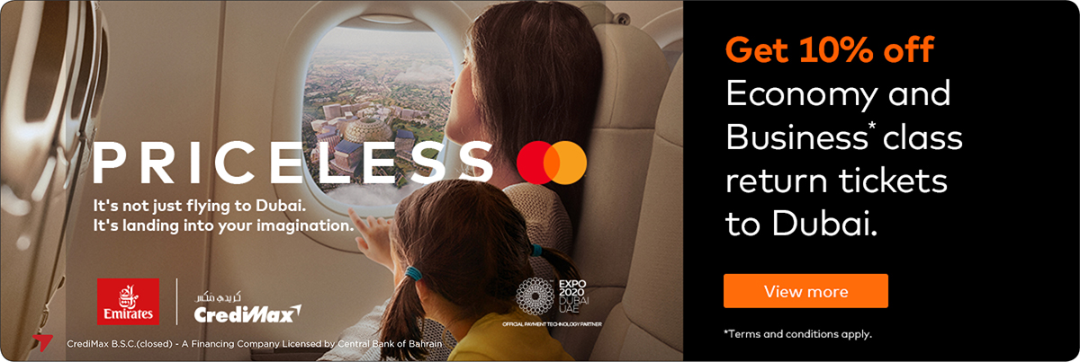 Mastercard Emirates Airlines Expo 2020 Offer