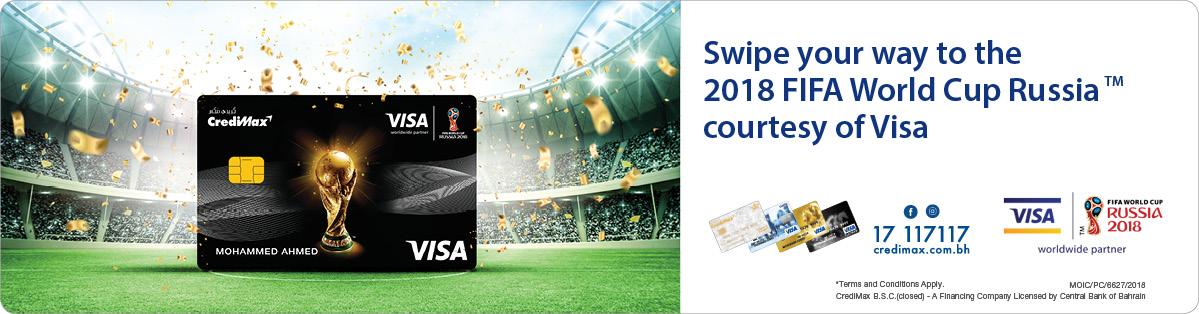 CrediMax Visa FIFA World Cup 2018 Campaign