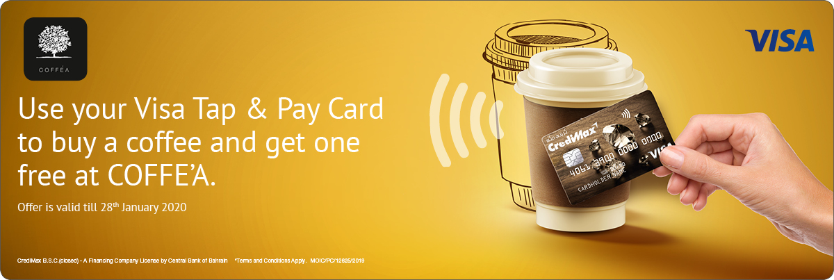 CrediMax and COFFE'A Offer