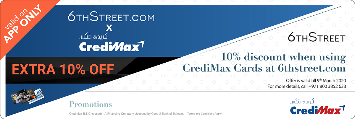 CrediMax and 6thStreet.com Offer