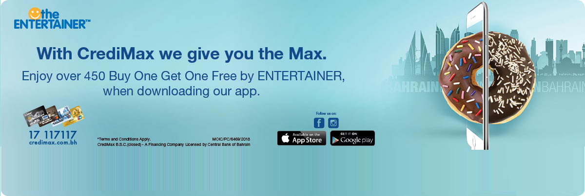 CrediMax Entertainer Offer