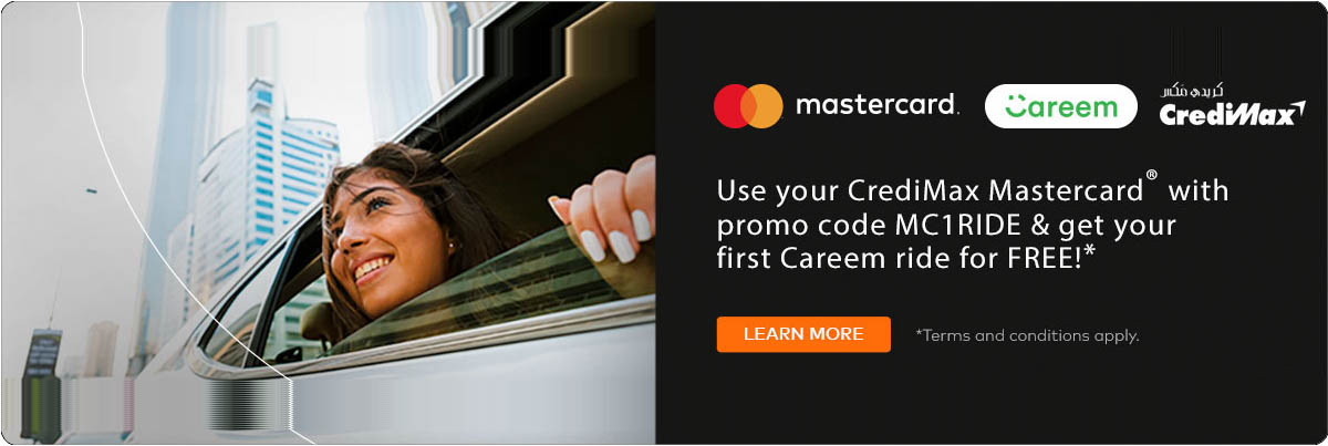 CrediMax Mastercard Careem Offer